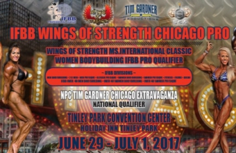 Списки участников IFBB Wings of Strength Chicago Pro 2017