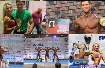 Украина вторая на IFBB Diamond Cup Warsaw Fiwe