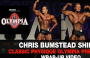 Chris Bumstead SHINES at Classic Physique Olympia Prejudging (Wrap-up Video)