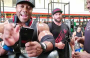 Stanimal and Shawn Rhoden train delts  54 days out from Mr. Olympia.
