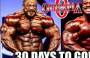 MR OLYMPIA 2018 -ONLY 30 DAYS TO GO!!!
