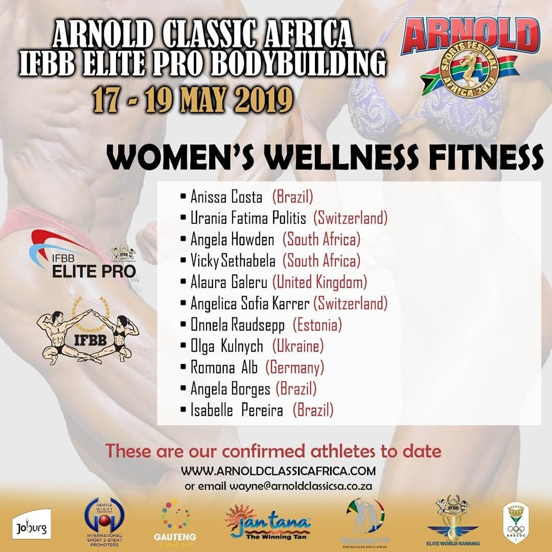 Arnold Classic South Africa 2019