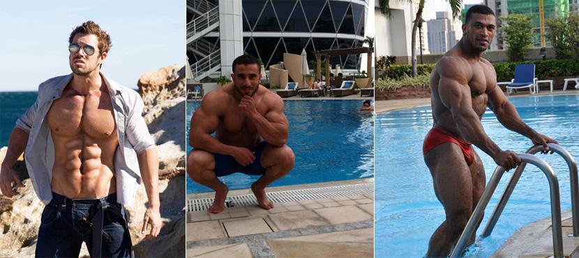 Совмещение басейна и бодибилдинга