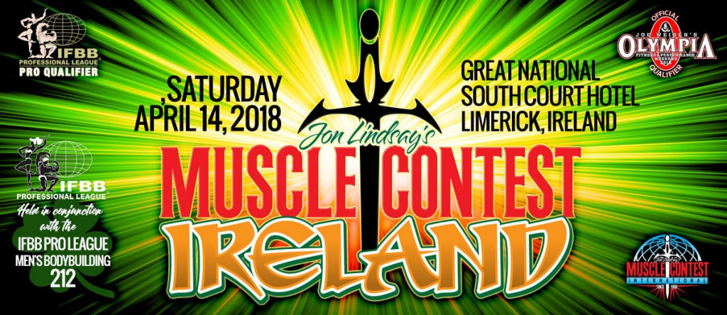 2018 IFBB MUSCLE CONTEST IRELAND PRO MENS 212