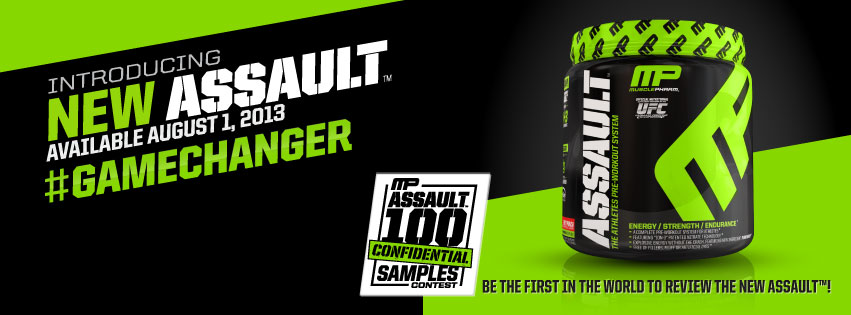 New assault muscle pharm