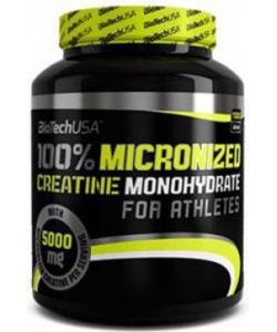 BioTech USA 100% Micronized Creatine Monohydrate (1000 грамм, 200 порций)