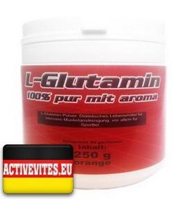 Activevites L-Glutamin 100% pur mit aroma (250 грамм)