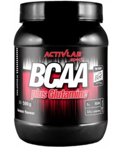 Activlab BCAA plus Glutamine (500 грамм, 50 порций)