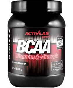 ActivLab BCAA Vitamins & Minerals (500 грамм, 100 порций)