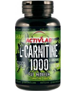 ActivLab L-Carnitine 1000 (30 капсул)