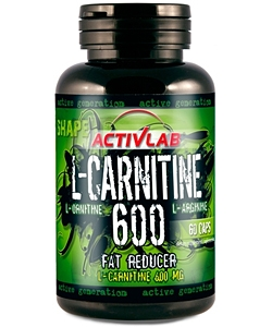 ActivLab L-Carnitine 600 (60 капсул)