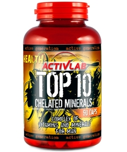 ActivLab Top 10 Chelated Minerals (90 капсул)