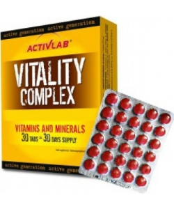 ActivLab Vitality Complex (30 таблеток)