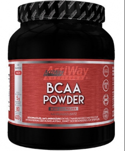 ACTIWAY - BCAA Powder (400 грамм, 80 порций)