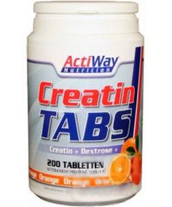 ActiWay Nutrition Creatin Tabs (200 таблеток)