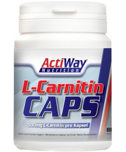 ActiWay Nutrition L-Carnitin Caps (80 капсул)