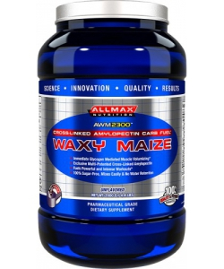 AllMax Waxy Maize Unflavored (2000 грамм, 50 порций)