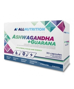 AllNutrition Ashwagandha + Guarana (30 капсул, 30 порций)