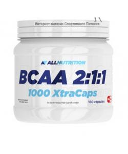 AllNutrition BCAA 2:1:1 1000 Xtra Caps (180 капсул, 30 порций)