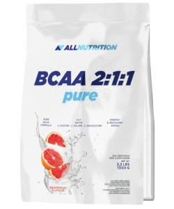AllNutrition BCAA Pure 2:1:1 (1000 грамм)