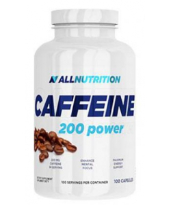 AllNutrition Caffeine 200 power (100 капсул, 100 порций)