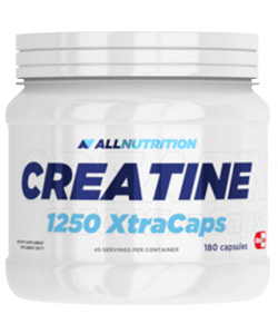 AllNutrition Creatine 1250 Xtra Caps (180 капсул, 45 порций)