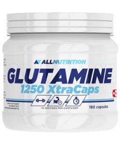 AllNutrition Glutamine 1250 Xtra Caps (180 капсул, 45 порций)