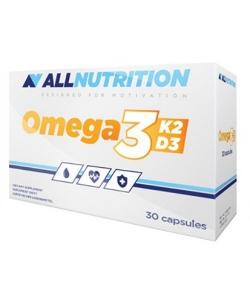 AllNutrition Vit Omega 3+D3+K2 (30 капсул, 30 порций)