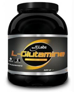 AllSports Labs L-Glutamine (500 грамм, 125 порций)