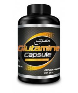 AllSports Labs L-Glutamine (100 капсул, 33 порции)