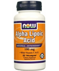 NOW Sports Alpha Lipoic Acid 100 mg (60 капсул)