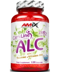 Amix Acetyl L-Carnitine ALC with Taurin & Vitamine B6 (120 капсул)
