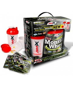 Amix Anabolic Monster Whey BOX with Monster Shaker (2000 грамм)