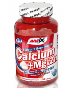 Amix Calcium + Mg & Zn (100 таблеток)