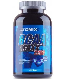ATOMIXX BCAA MAXX 2200 (400 капсул, 100 порций)
