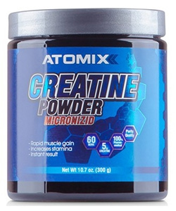 ATOMIXX Creatine Powder Micronizid (300 грамм)
