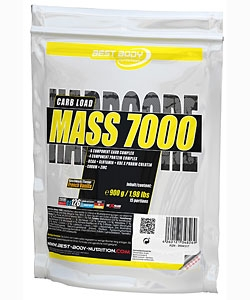 Best Body Hardcore Mass 7000 (900 грамм)