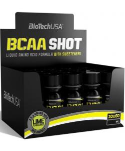 BioTech USA BCAA Shot 20х60 ml (1200 мл, 20 порций)