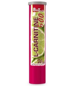 BioTech Effervescent L-carnitine 500 (20 таблеток)
