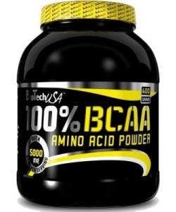 BioTech USA 100% BCAA Amino Acid Powder (400 грамм, 80 порций)
