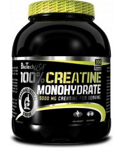 BioTech USA 100% Creatine Monohydrate (300 грамм, 60 порций)