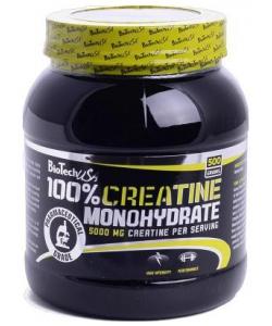 BioTech USA 100% Creatine Monohydrate (500 грамм, 100 порций)