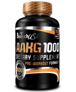 BioTech USA AAKG 1000 (100 таблеток, 50 порций)