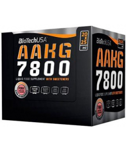 BioTech USA AAKG 7800 20x25 ml (500 мл, 20 порций)