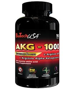 BioTech USA AKG-1000 L-Arginine (90 таблеток)