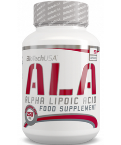 BioTech USA ALA Alpha Lipoic Acid (50 капсул, 50 порций)