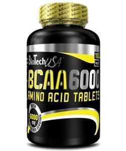 BioTech USA BCAA 6000 (100 таблеток, 25 порций)