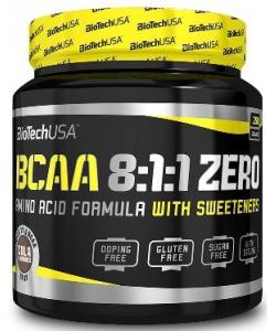 BioTech USA BCAA 8:1:1 ZERO (250 грамм, 27 порций)