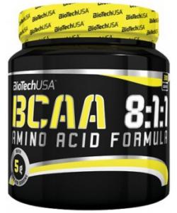 BioTech USA BCAA 8:1:1 Amino Acid Formula (300 грамм, 60 порций)