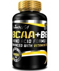 BioTech USA BCAA+B6 Amino Acid Formula (100 таблеток, 25 порций)